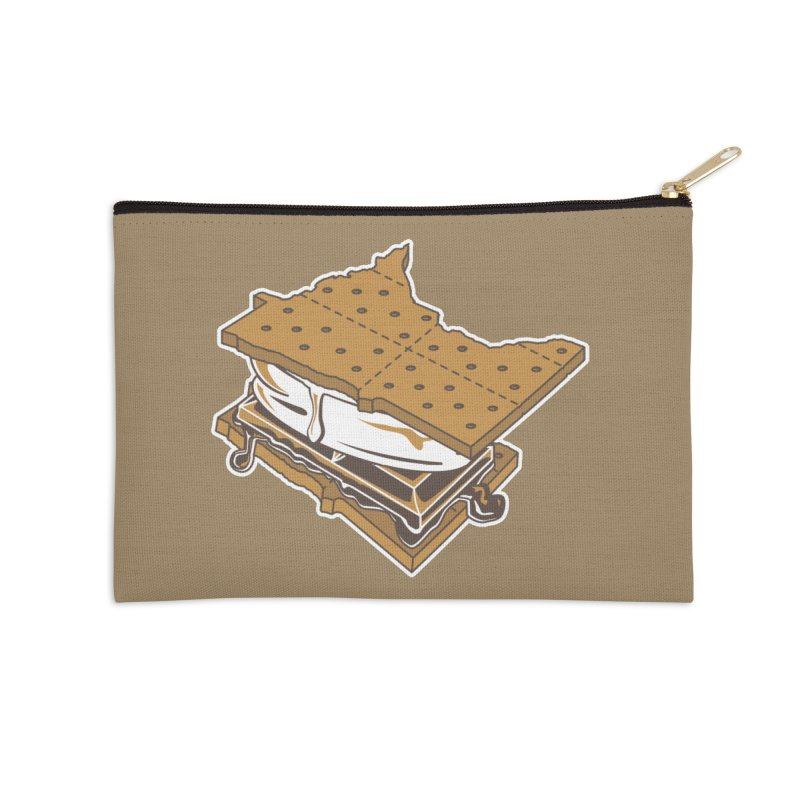MinneS'moreta Star of the S'moreth Accessories Zip Pouch by Logo Mo Doodles, Drawings, and Designs