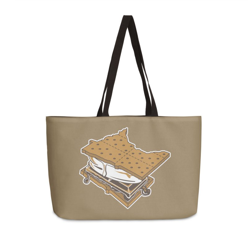 MinneS'moreta Star of the S'moreth Accessories Weekender Bag Bag by Logo Mo Doodles, Drawings, and Designs