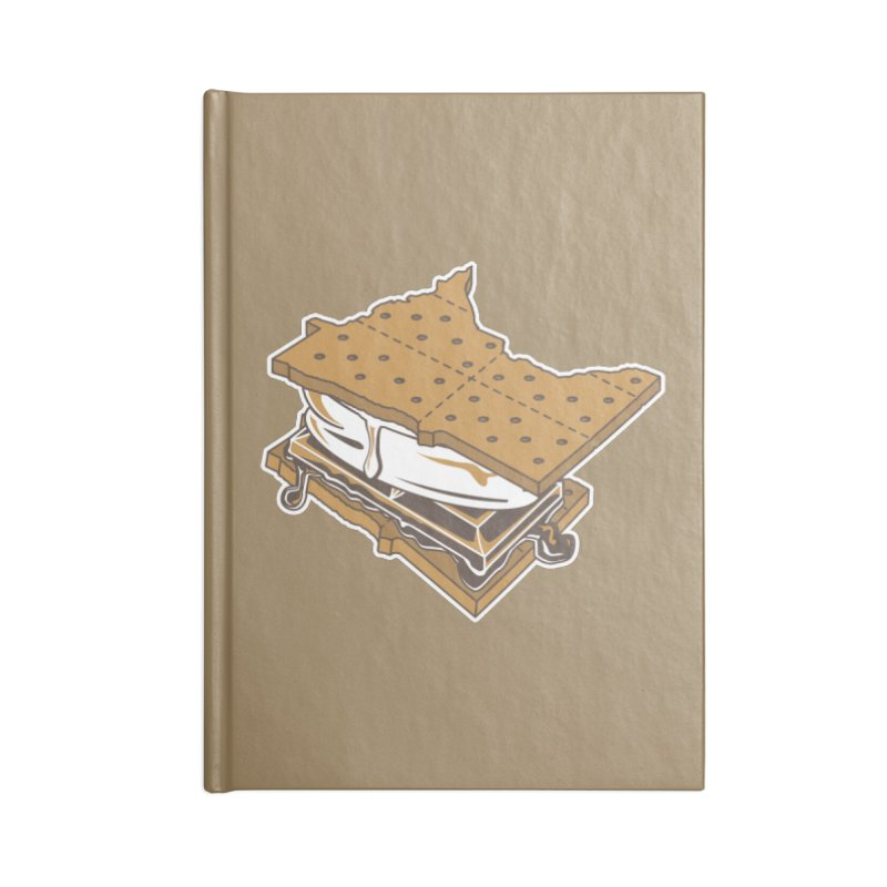 MinneS'moreta Star of the S'moreth Accessories Lined Journal Notebook by Logo Mo Doodles, Drawings, and Designs