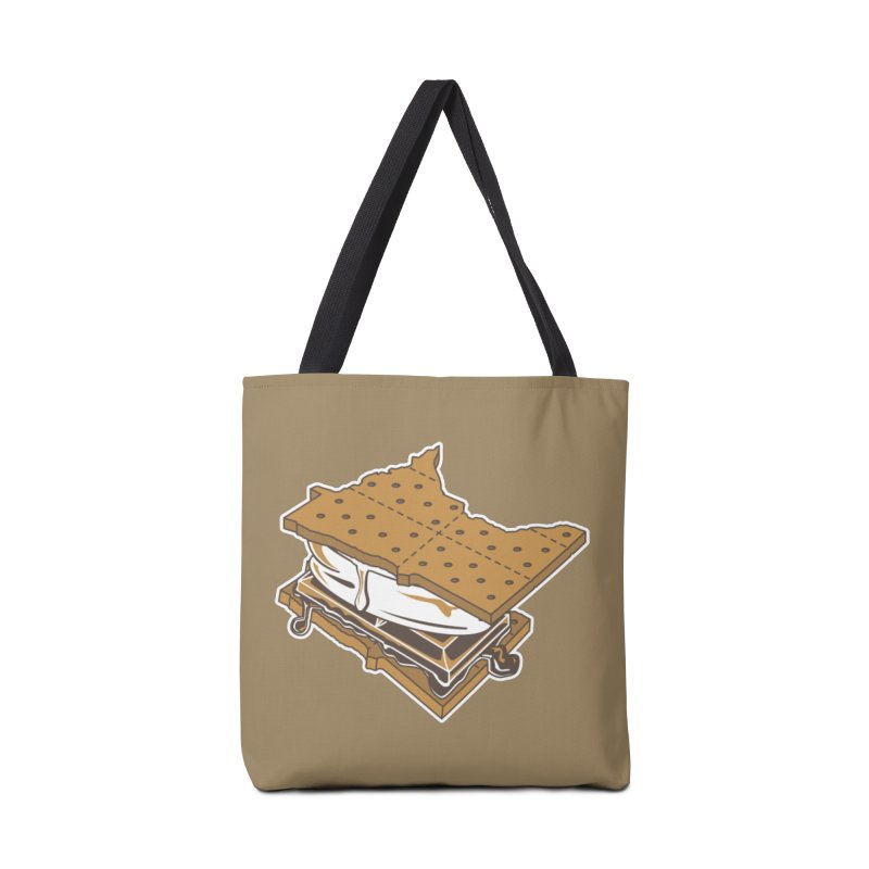 MinneS'moreta Star of the S'moreth Accessories Tote Bag Bag by Logo Mo Doodles, Drawings, and Designs