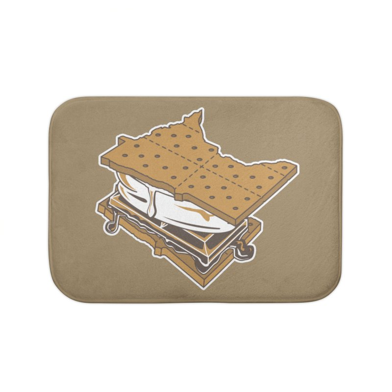 MinneS'moreta Star of the S'moreth Home Bath Mat by Logo Mo Doodles, Drawings, and Designs
