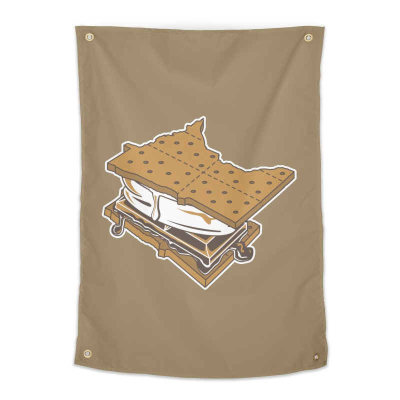 MinneS'moreta Star of the S'moreth Home Tapestry by Logo Mo Doodles, Drawings, and Designs