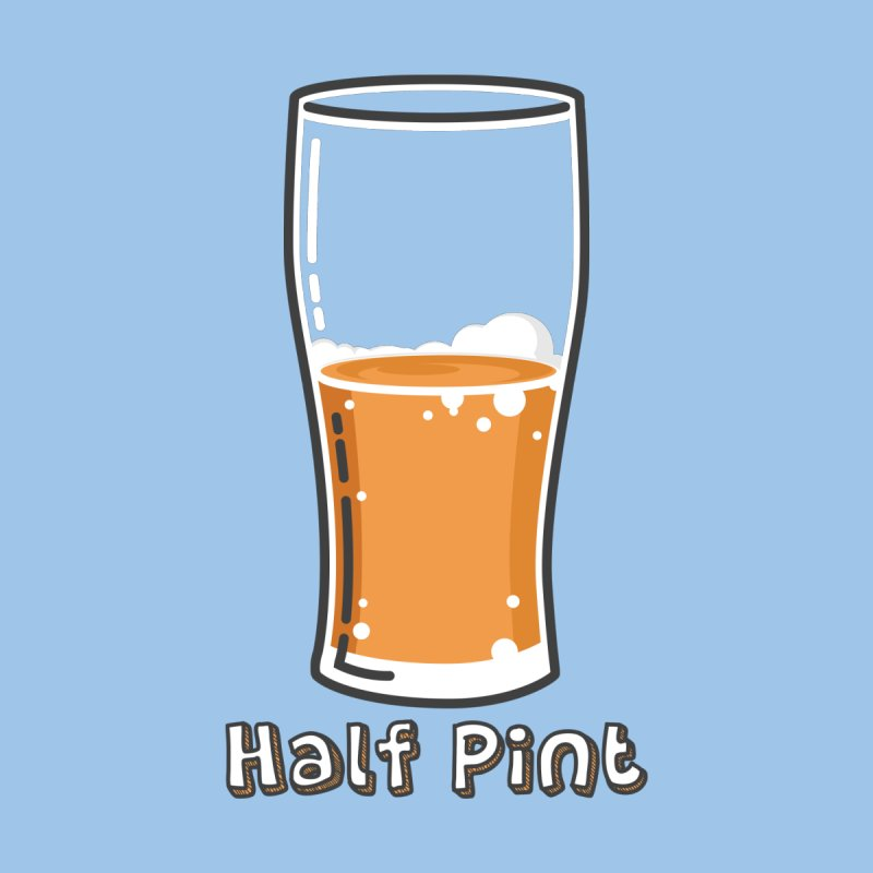 Half Pint Kids T-Shirt by Logo Mo Doodles, Drawings, and Designs
