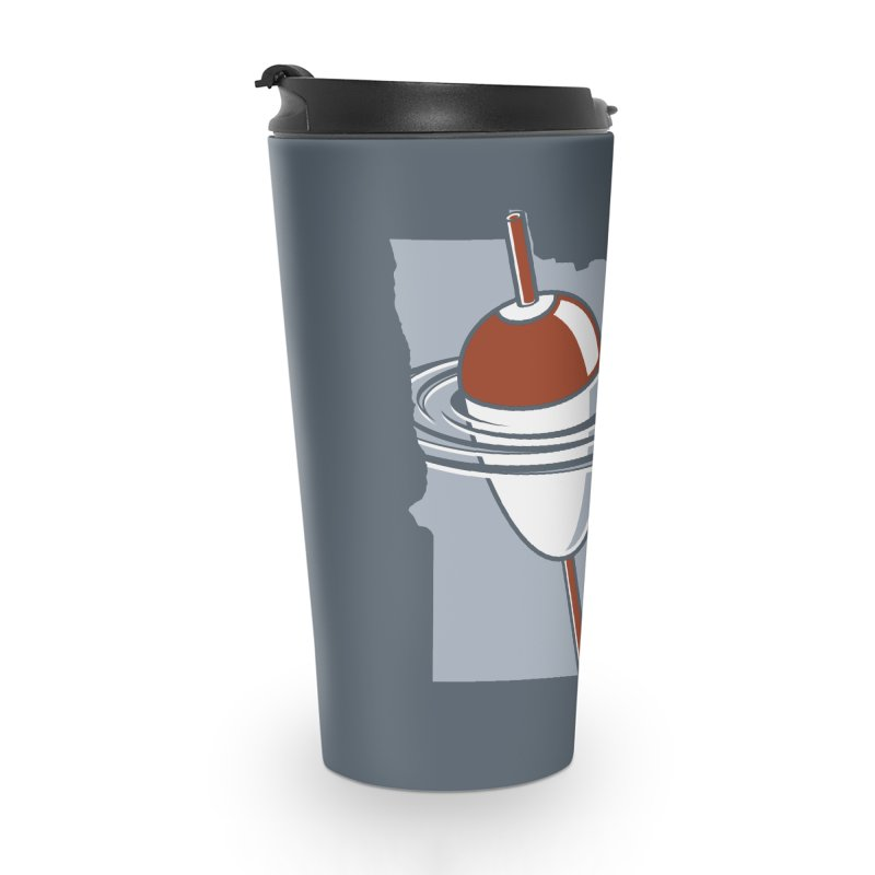 Minnesota Bobber Accessories Travel Mug by Logo Mo Doodles, Drawings, and Designs
