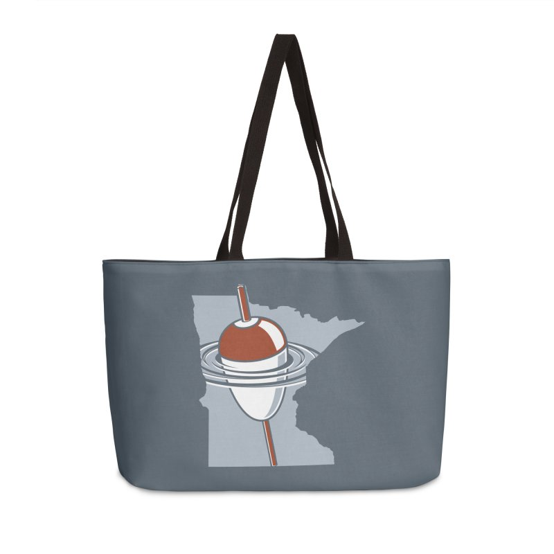 Minnesota Bobber Accessories Weekender Bag Bag by Logo Mo Doodles, Drawings, and Designs