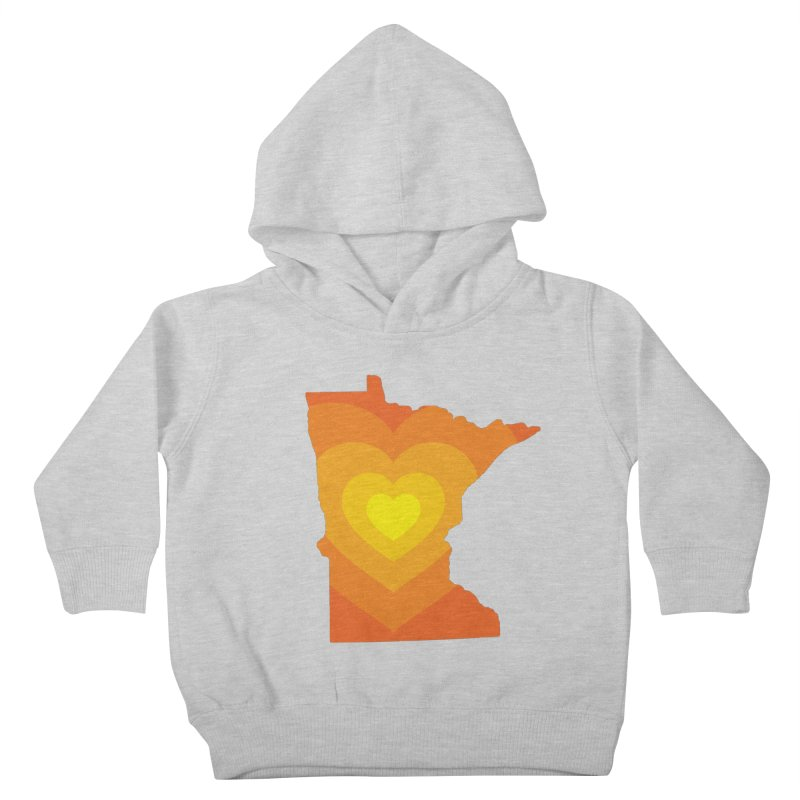 Heart of MN Kids Toddler Pullover Hoody by Logo Mo Doodles, Drawings, and Designs