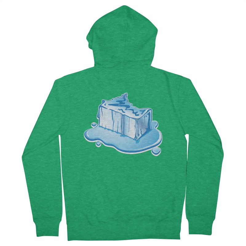 Stay Cool Minnesota! Women's French Terry Zip-Up Hoody by Logo Mo Doodles, Drawings, and Designs