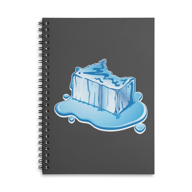Stay Cool Minnesota! Accessories Lined Spiral Notebook by Logo Mo Doodles, Drawings, and Designs