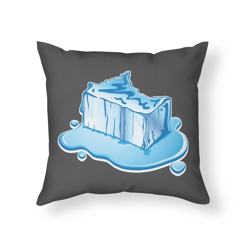 Stay Cool Minnesota! Home Throw Pillow by Logo Mo Doodles, Drawings, and Designs