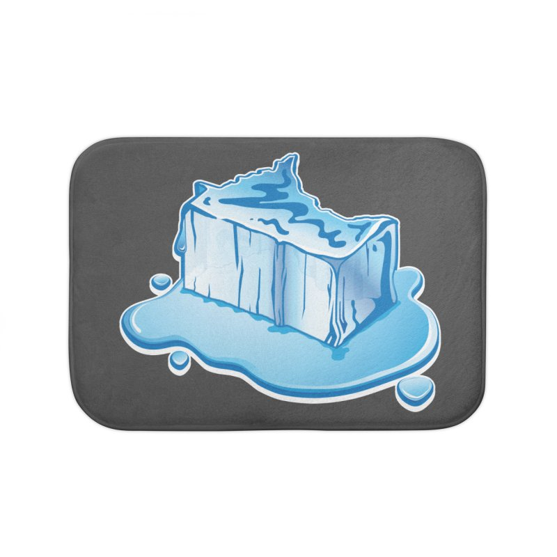 Stay Cool Minnesota! Home Bath Mat by Logo Mo Doodles, Drawings, and Designs