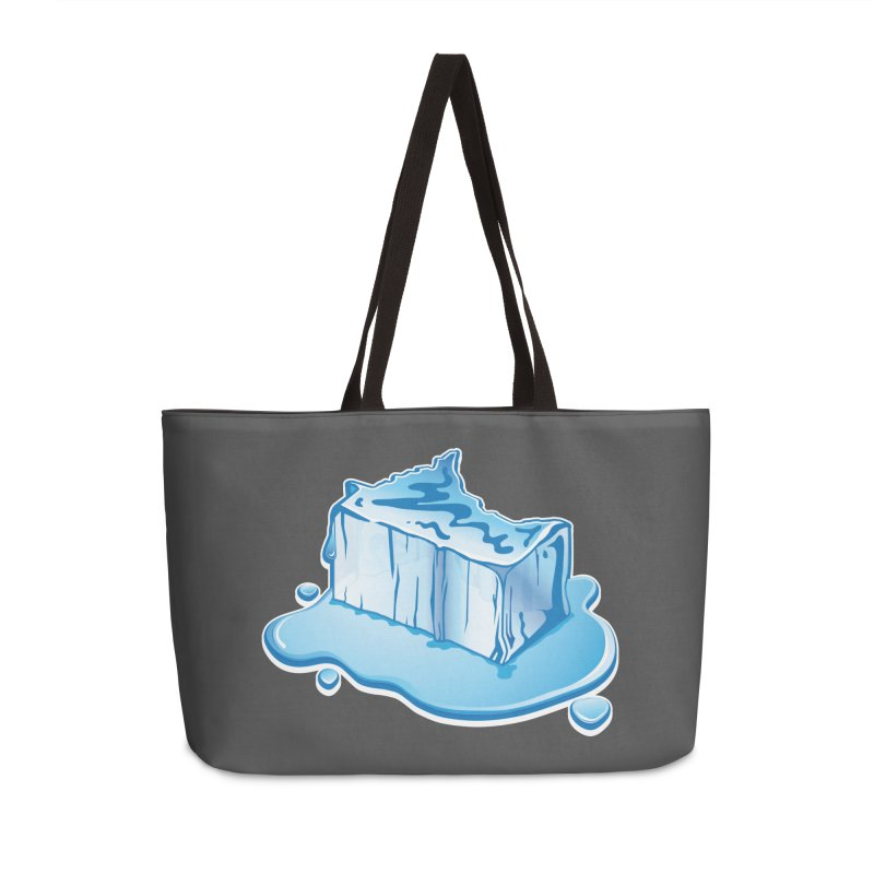 Stay Cool Minnesota! Accessories Weekender Bag Bag by Logo Mo Doodles, Drawings, and Designs