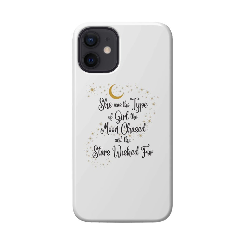 Moon Chased Stars Wished Accessories Phone Case by Logo Mo Doodles, Drawings, and Designs