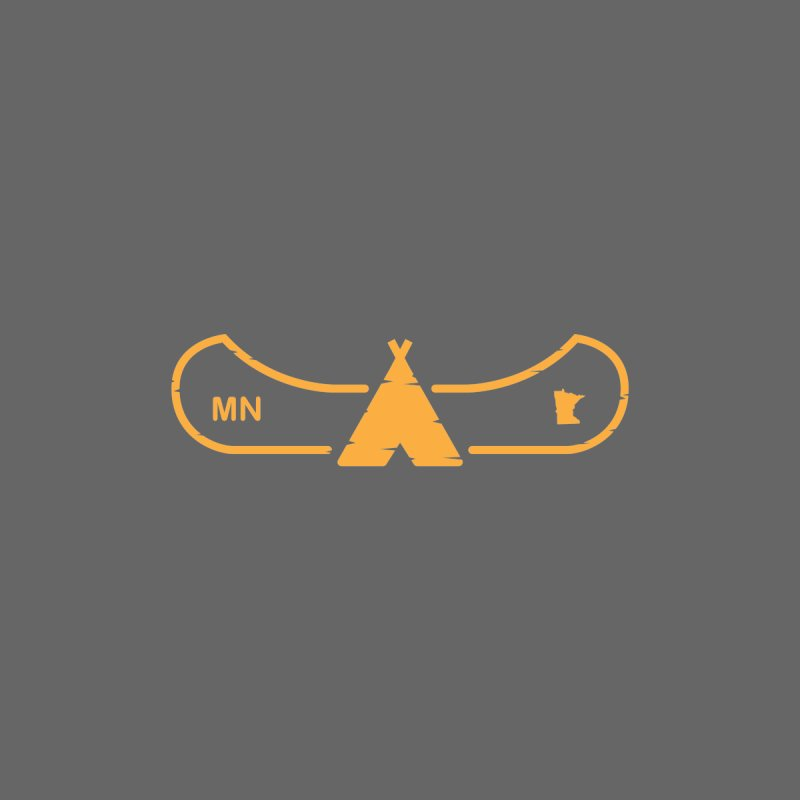 Canoe in Camping Sign (ORANGE) by Logo Mo Doodles, Drawings, and Designs