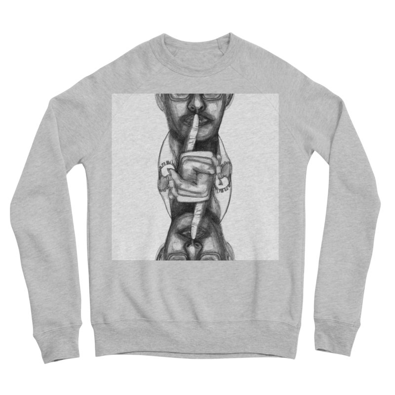 Bromance Handshake Collection Women's Sponge Fleece Sweatshirt by Lola Liberta Artist Shop