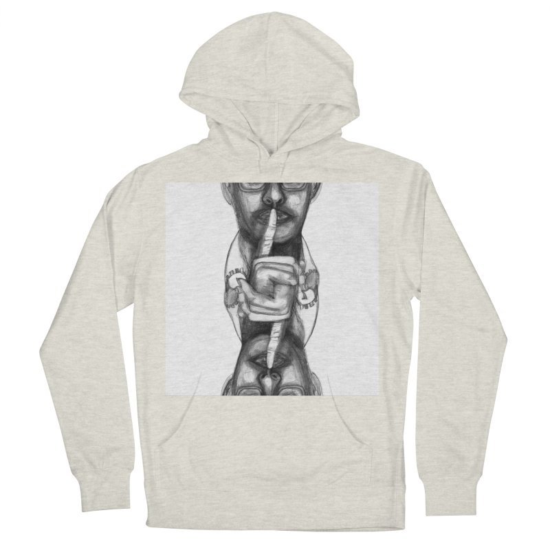 Bromance Handshake Collection Men's French Terry Pullover Hoody by Lola Liberta Artist Shop