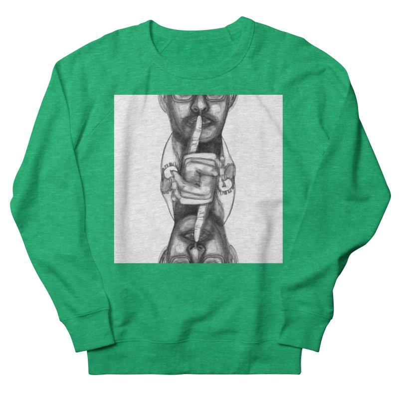 Bromance Handshake Collection Women's Sweatshirt by Lola Liberta Artist Shop