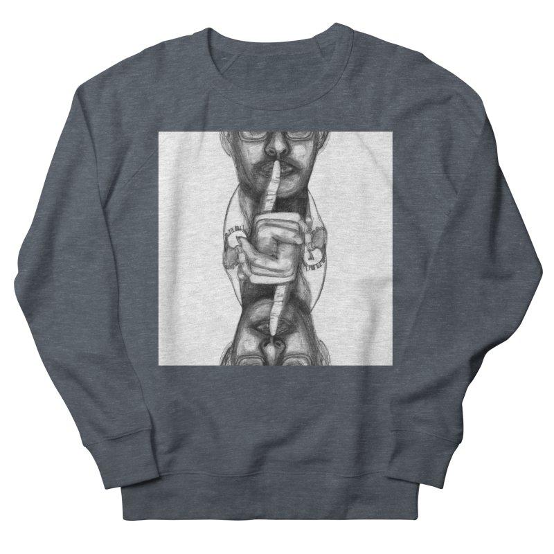 Bromance Handshake Collection Men's French Terry Sweatshirt by Lola Liberta Artist Shop