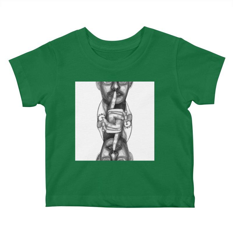Bromance Handshake Collection Kids Baby T-Shirt by Lola Liberta Artist Shop