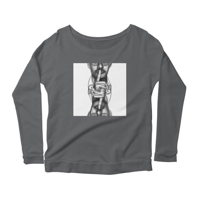 Bromance Handshake Collection Women's Scoop Neck Longsleeve T-Shirt by Lola Liberta Artist Shop