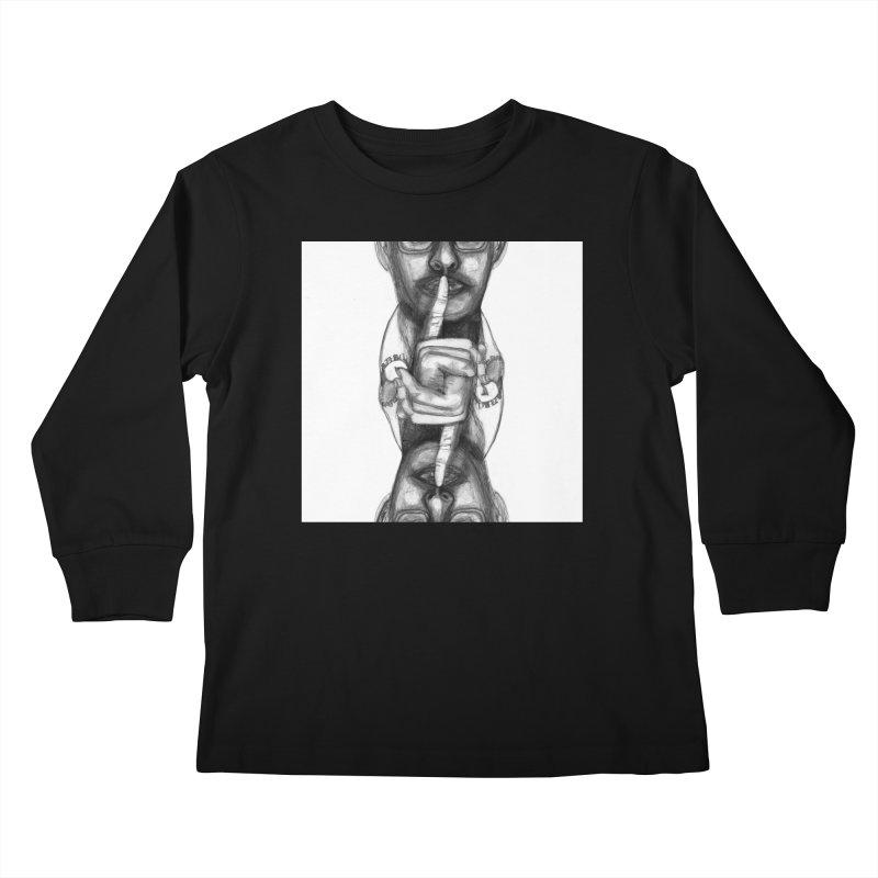 Bromance Handshake Collection Kids Longsleeve T-Shirt by Lola Liberta Artist Shop