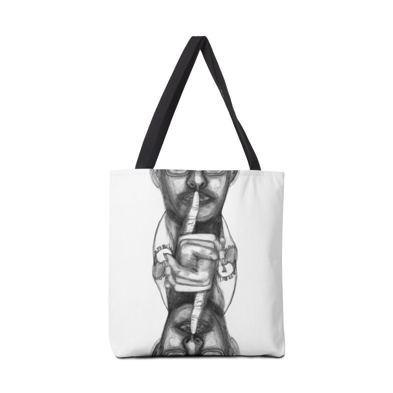 Bromance Handshake Collection Accessories Tote Bag Bag by Lola Liberta Artist Shop