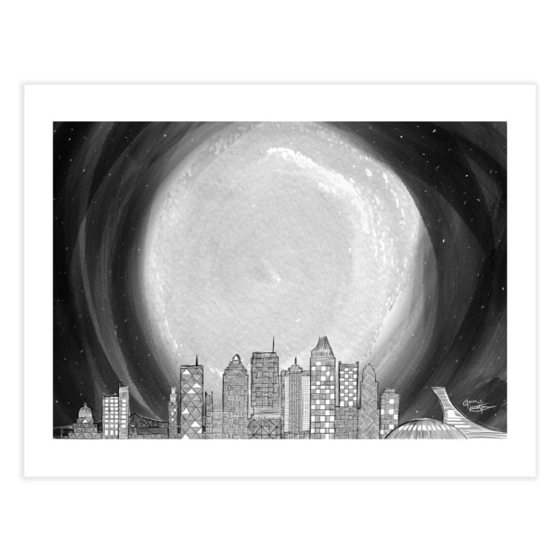 Montreal, Winter Home Fine Art Print by The Lola x Kenneth Collaboration