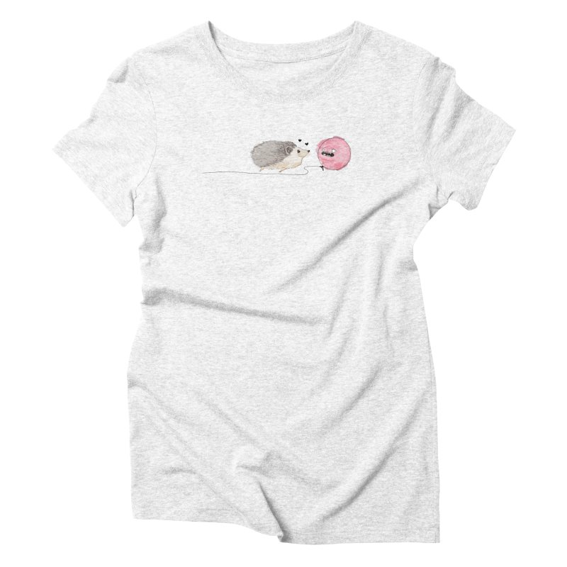 Hard To Get Women's Triblend T-shirt by The Lola x Kenneth Collaboration