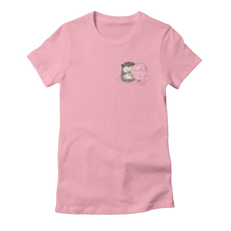 Cuddle Women's Fitted T-Shirt by The Lola x Kenneth Collaboration