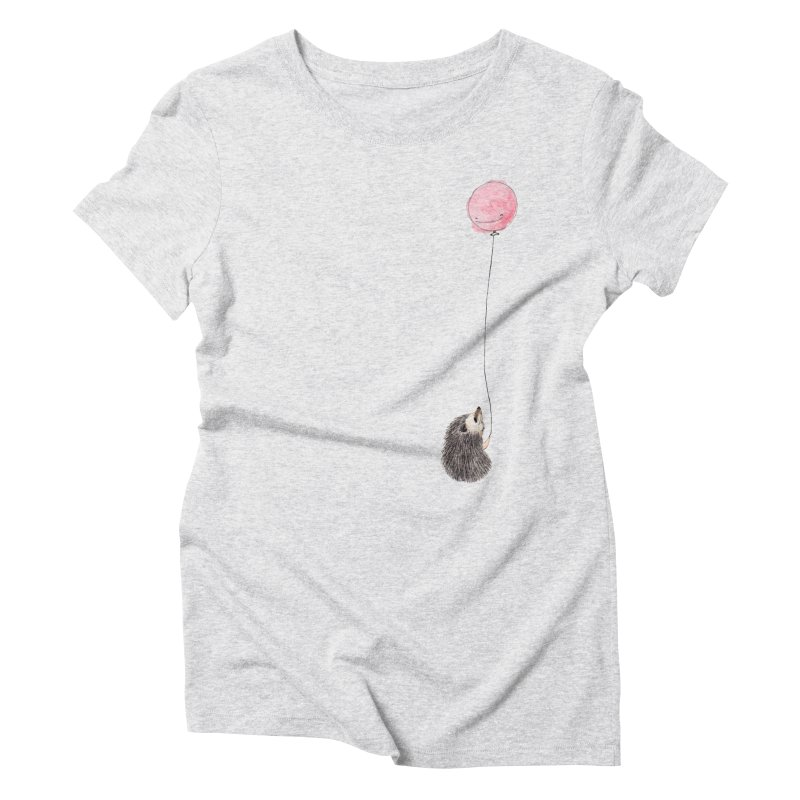 Long Distance Women's Triblend T-Shirt by The Lola x Kenneth Collaboration
