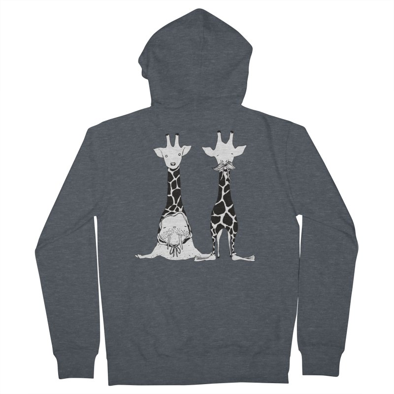 Twinning Men's Zip-Up Hoody by The Lola x Kenneth Collaboration