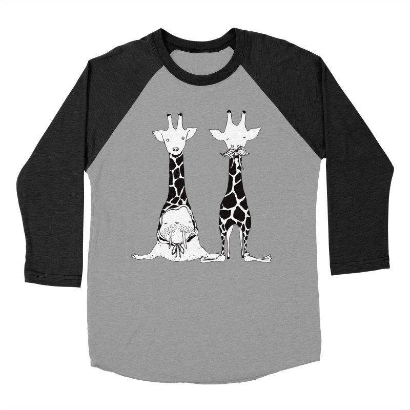 Twinning Women's Baseball Triblend T-Shirt by The Lola x Kenneth Collaboration
