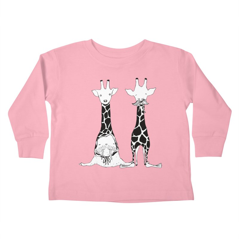 Twinning Kids Toddler Longsleeve T-Shirt by The Lola x Kenneth Collaboration