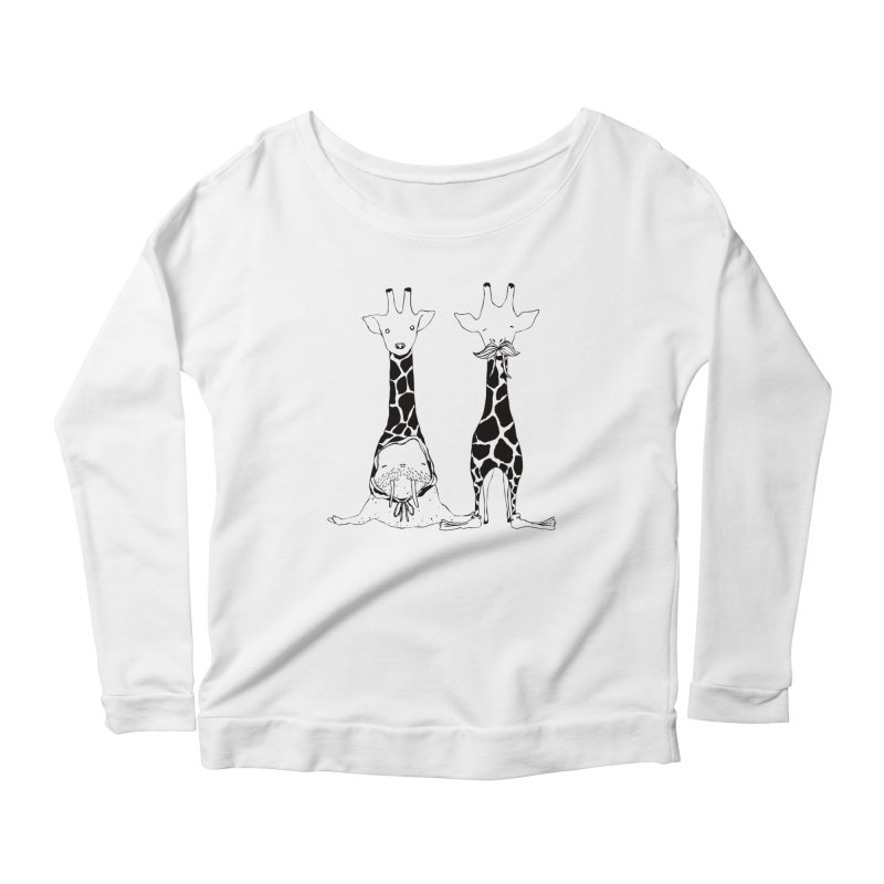 Twinning Women's Longsleeve Scoopneck  by The Lola x Kenneth Collaboration