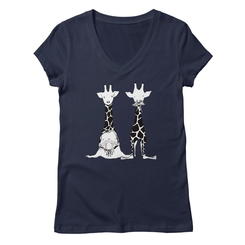 Twinning Women's V-Neck by The Lola x Kenneth Collaboration
