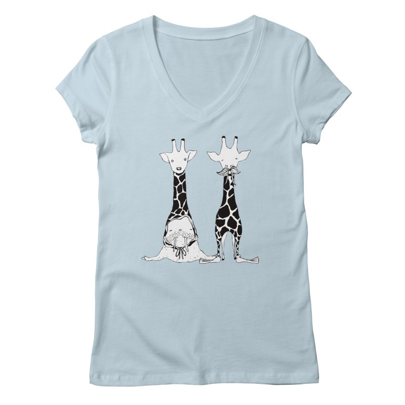 Twinning Women's Regular V-Neck by The Lola x Kenneth Collaboration