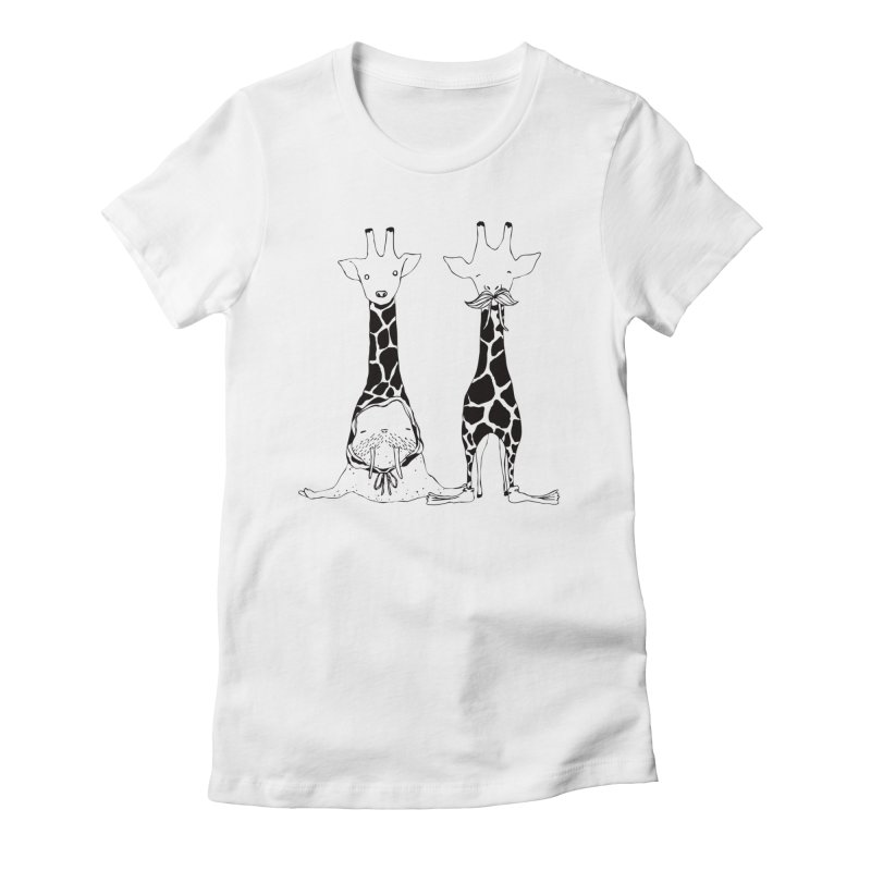 Twinning Women's Fitted T-Shirt by The Lola x Kenneth Collaboration