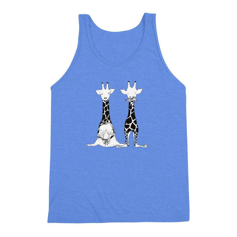 Twinning Men's Triblend Tank by The Lola x Kenneth Collaboration