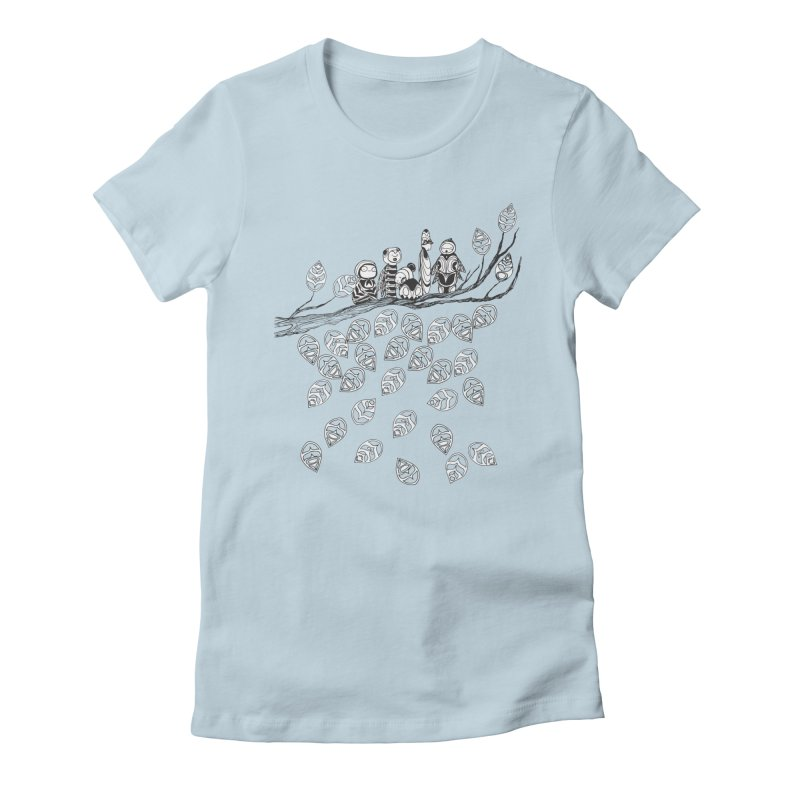 Pamilya Women's Fitted T-Shirt by The Lola x Kenneth Collaboration
