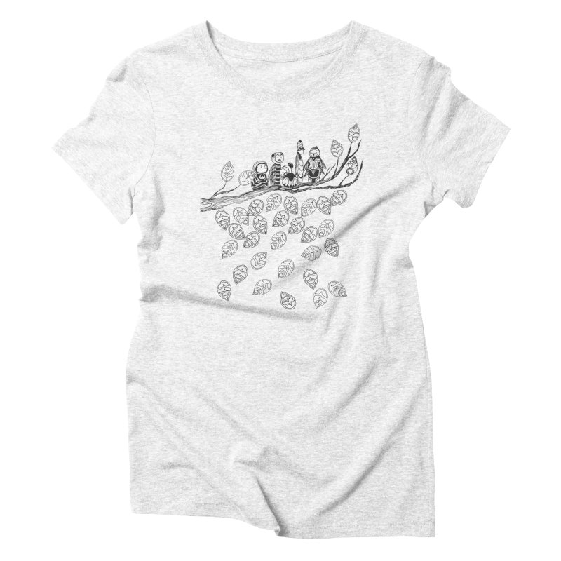 Pamilya Women's Triblend T-shirt by The Lola x Kenneth Collaboration