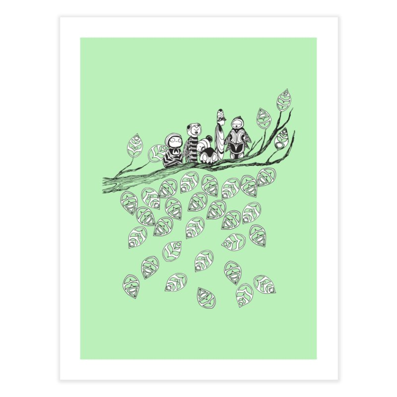 Loose Drips Sink Ships Home Fine Art Print by The Lola x Kenneth Collaboration