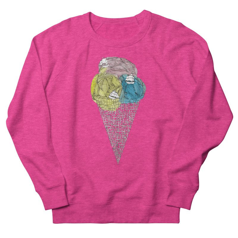 Loose Drips Sink Ships Women's French Terry Sweatshirt by The Lola x Kenneth Collaboration