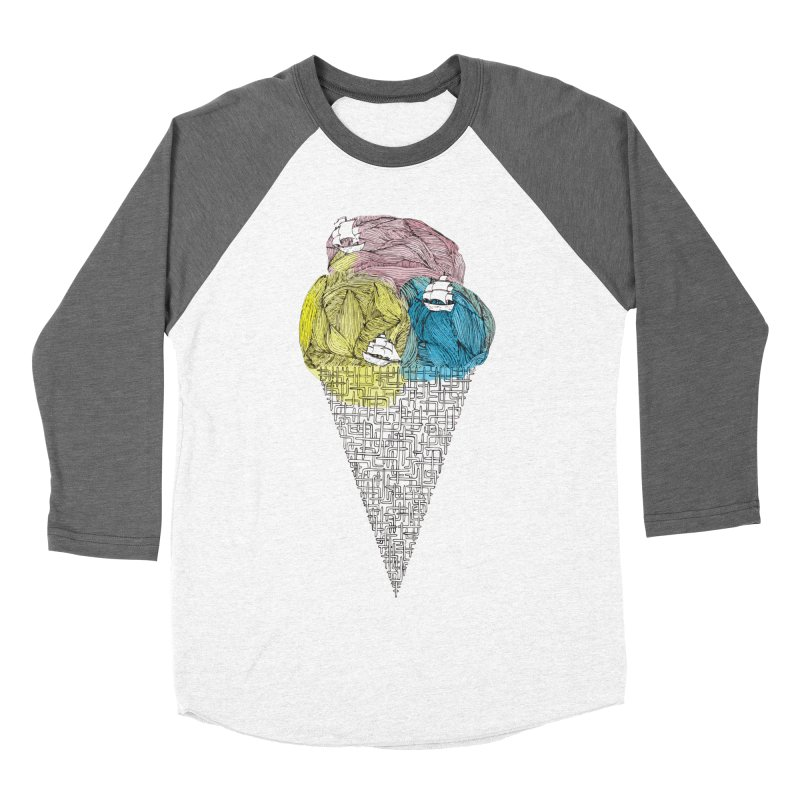 Loose Drips Sink Ships Women's Baseball Triblend T-Shirt by The Lola x Kenneth Collaboration
