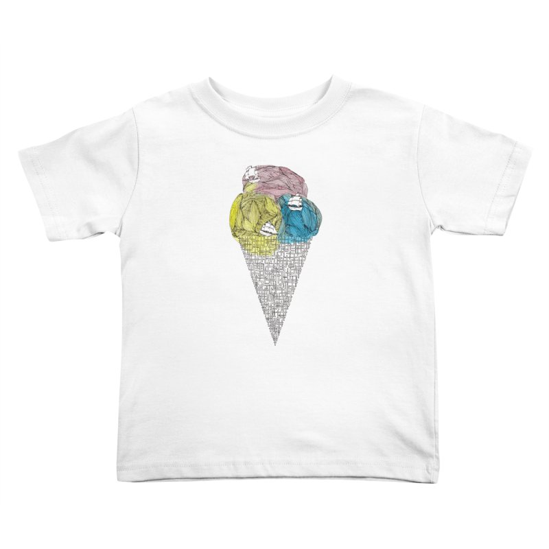 Loose Drips Sink Ships Kids Toddler T-Shirt by The Lola x Kenneth Collaboration