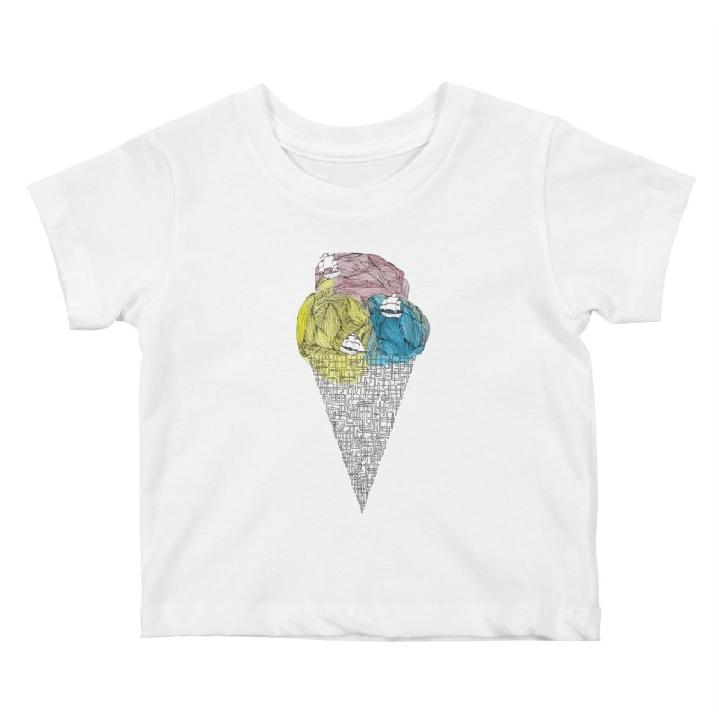 Loose Drips Sink Ships Kids Baby T-Shirt by The Lola x Kenneth Collaboration