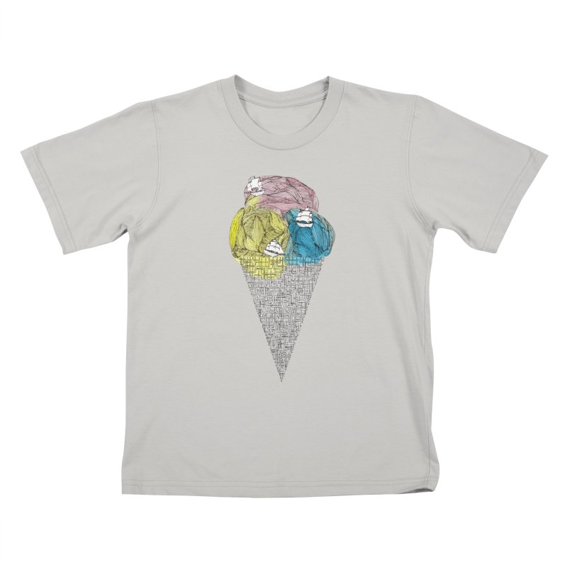 Loose Drips Sink Ships Kids T-Shirt by The Lola x Kenneth Collaboration