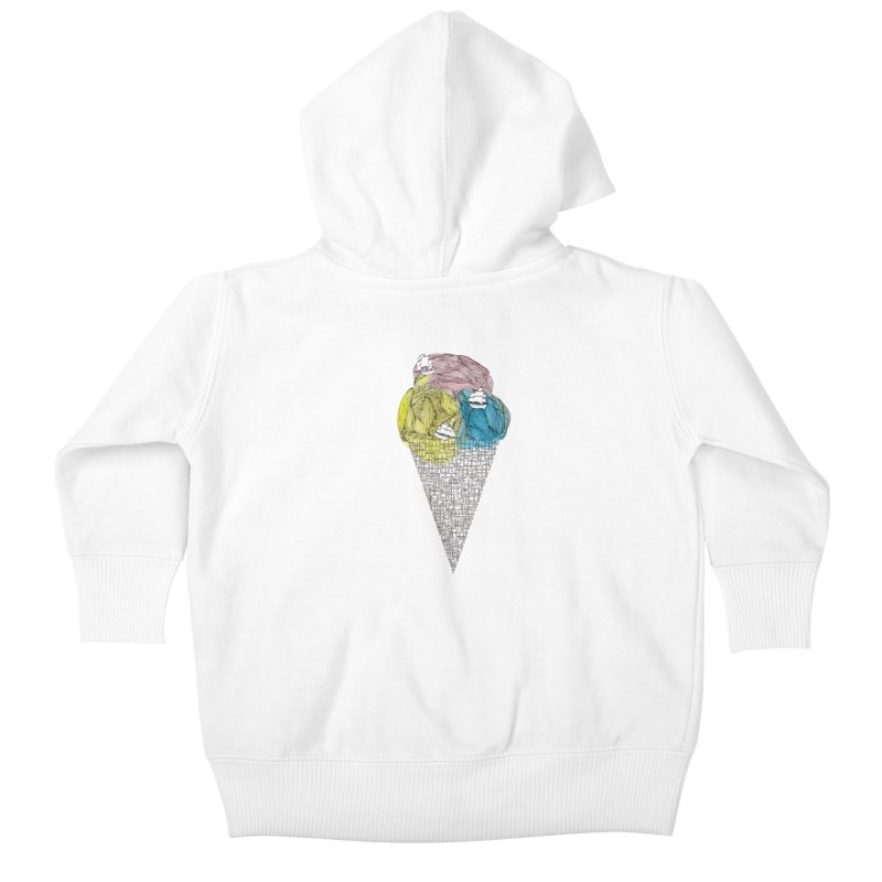 Loose Drips Sink Ships Kids Baby Zip-Up Hoody by The Lola x Kenneth Collaboration