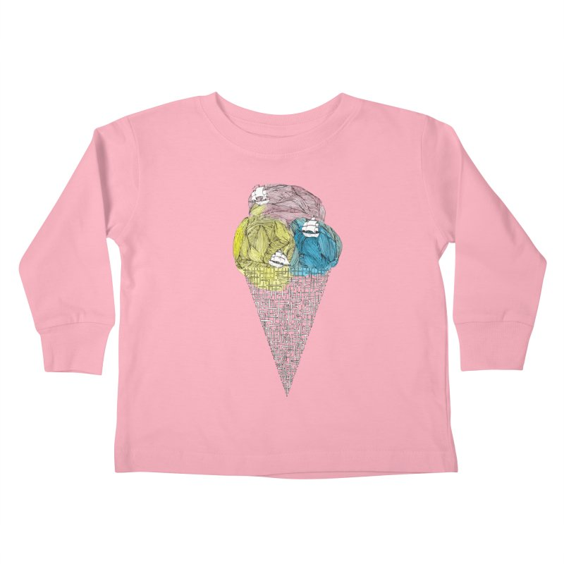 Loose Drips Sink Ships Kids Toddler Longsleeve T-Shirt by The Lola x Kenneth Collaboration