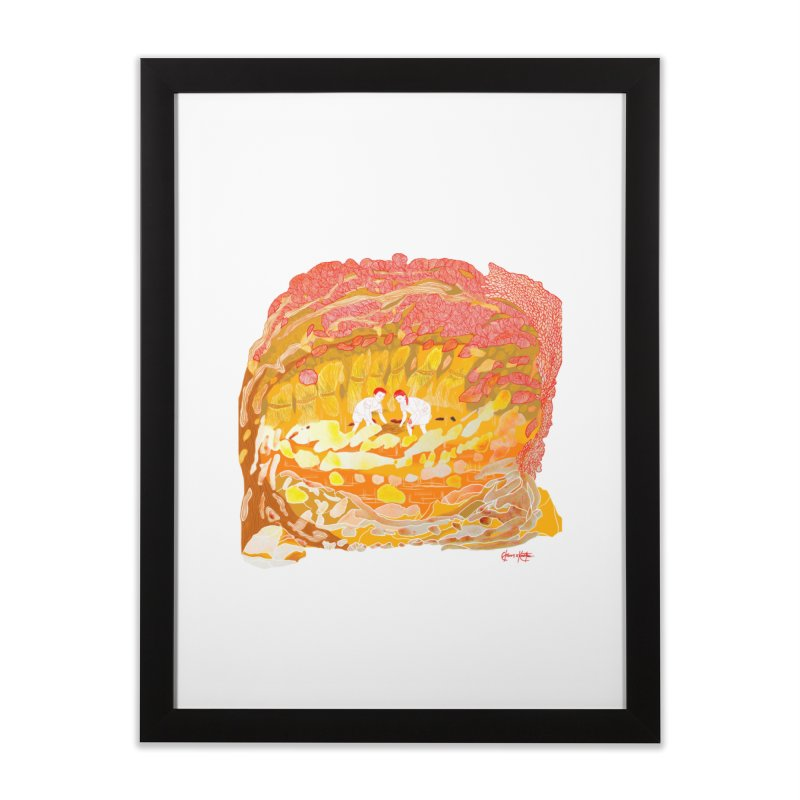 Anihan (Harvest Time) Home Framed Fine Art Print by The Lola x Kenneth Collaboration