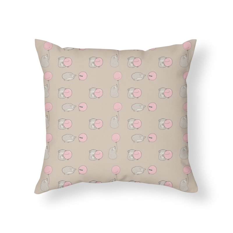 Pop Home Throw Pillow by The Lola x Kenneth Collaboration