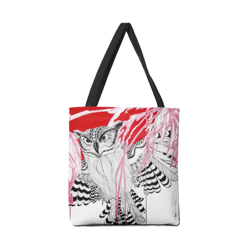 Owl Accessories Tote Bag Bag by The Lola x Kenneth Collaboration